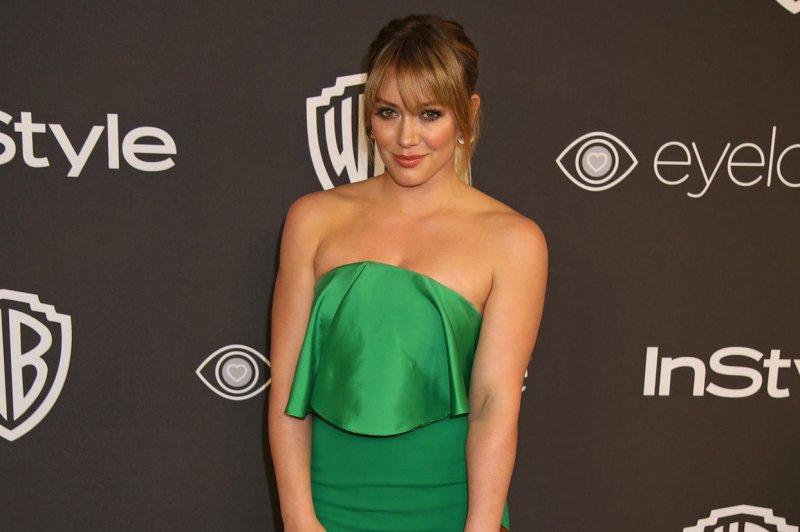 Hilary Duff shared a cute photo of herself and Matthew Koma comparing midriffs. File Photo by David Silpa/UPI