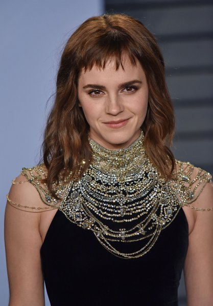 The official Instagram account for the upcoming film adaptation of Little Women shared a photo of actress Emma Watson posing with her costars and director Greta Gerwig. File Photo by Christine Chew/UPI