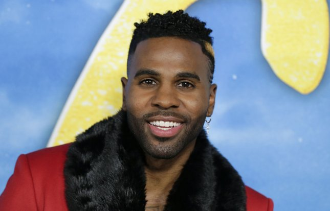Jason Derulo will be seen on next week's edition of The Greatest #AtHome Videos next week. File Photo by John Angelillo/UPI
