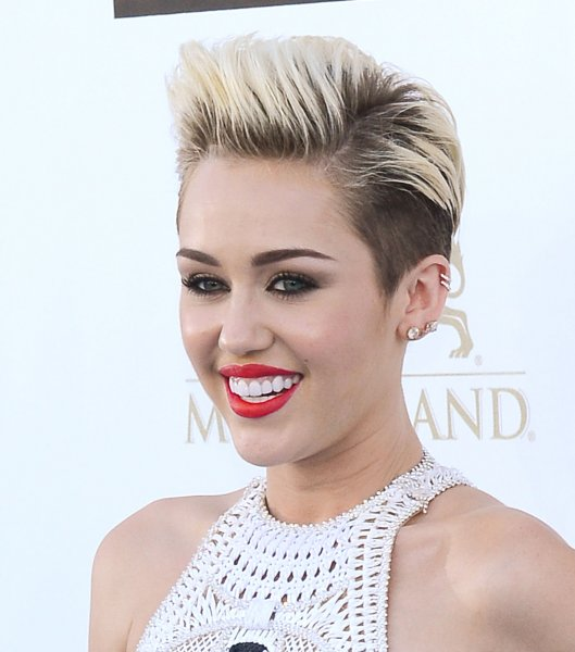 Singer Miley Cyrus arrives at the 2013 Billboard Music Awards held at the MGM Hotel in Las Vegas, Nevada on May 19, 2013. UPI/Jim Ruymen