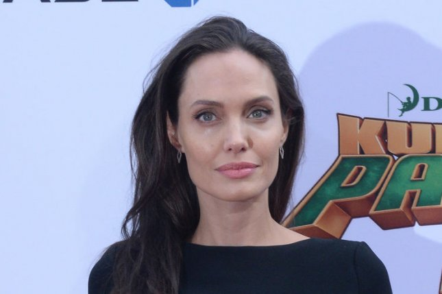Angelina Jolie at the Los Angeles premiere of Kung Fu Panda 3 on January 16. The actress plays the title character in Maleficent. File Photo by Jim Ruymen/UPI