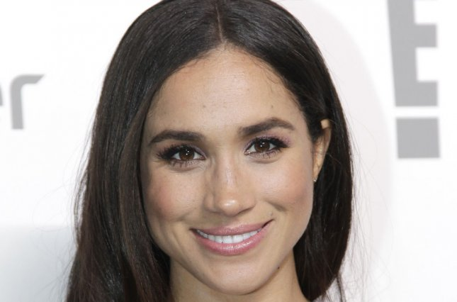 Meghan Markle at the NBCUniversal Upfront on May 14, 2015. File Photo by John Angelillo/UPI