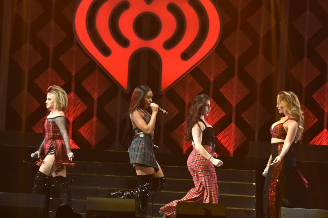 Fifth Harmony performs at the iHeartRadio Jingle Ball concert at the BB&T Center in Sunrise, Fla., on December 18, 2017. Wednesday, iHeartMedia filed for bankruptcy to cut $10 billion in outstanding debt. File Photo by Gary I Rothstein/UPI