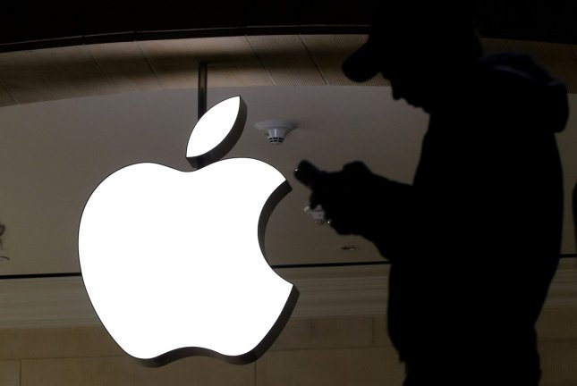 Apple and Samsung reached a settlement in a seven-year dispute over patent infringement for the original iPhone. File Photo by John Angelillo/UPI