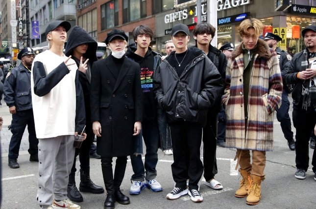 A BTS performance on America's Got Talent has increased interest in a South Korean amusement park struggling amid the coronavirus pandemic. File Photo by John Angelillo/UPI