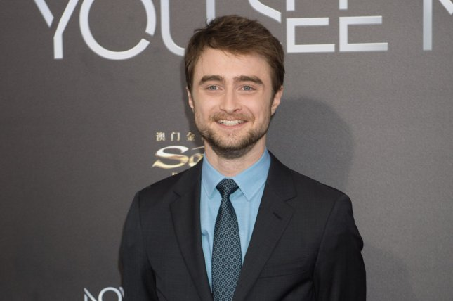 Daniel Radcliffe discussed his viral voguing scene in Miracle Workers: Oregon Trail on The Late Show with Stephen Colbert. File Photo by Bryan R. Smith/UPI