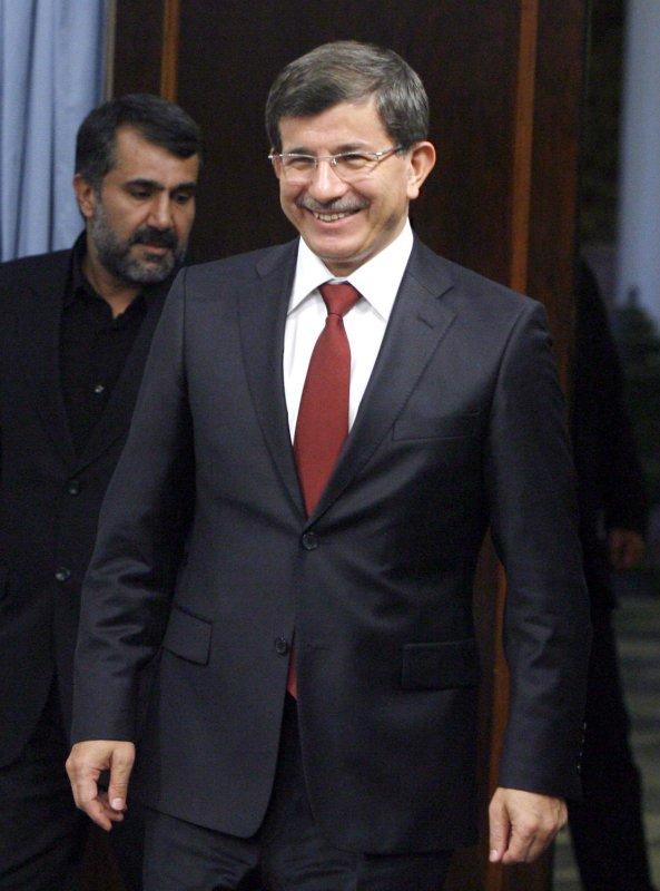 Turkish Foreign Minister Ahmet Davutoglu. UPI/STR