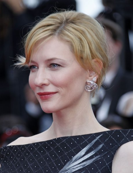 Cate Blanchett arrives on the red carpet before the screening of the film Robin Hood during the opening ceremony of the 63rd annual Cannes International Film Festival in Cannes, France on May 12, 2010. UPI/David Silpa
