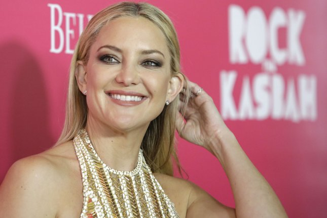 Kate Hudson was seen leaving an after-party following the New York Premiere of Rock the Kasbah with her agent Michael Kives. File Photo by John Angelillo/UPI