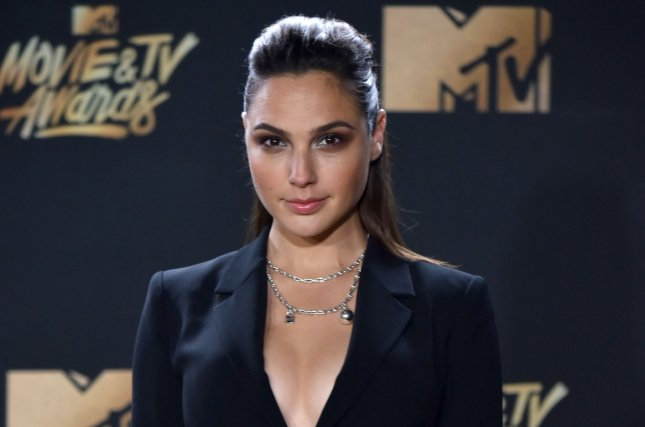 Wonder Woman, starring Gal Gadot, was the most-tweeted about film for 2017 with Game of Thrones being named the most-tweeted about television show. File Photo by Christine Chew/UPI