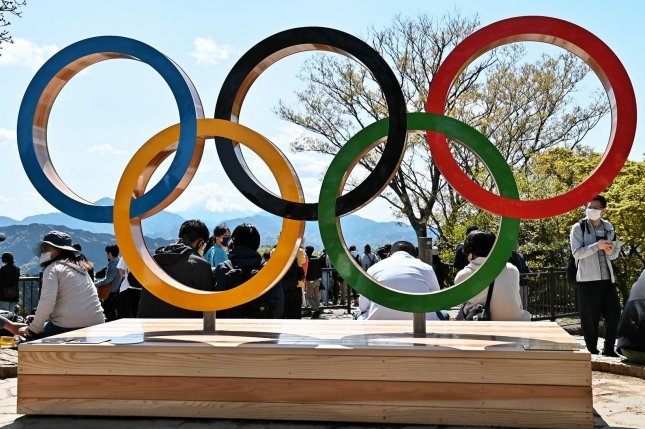 The 2020 Summer Games, which were postponed for one year due to COVID-19, are scheduled to start July 24 in Tokyo. File Photo by Keizo Mori/UPI