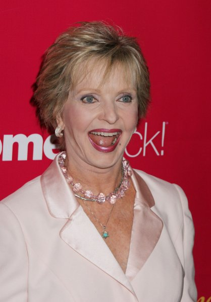 Actress Florence Henderson poses for photographers at WomenRock!, Lifetime Television's fifth annual concert to fight breast cancer in Los Angeles, Sepember 28, 2004. The show airs October 28th on Lifetime television. (UPI Photo/Francis Specker)