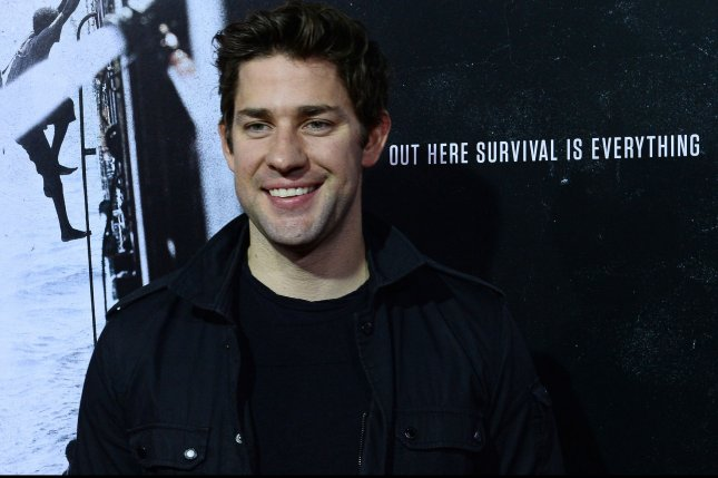 Actor John Krasinski attends the premiere of the biographical motion picture thriller Captain Phillips in Beverly Hills on Sept. 30, 2013. Photo by Jim Ruymen/UPI