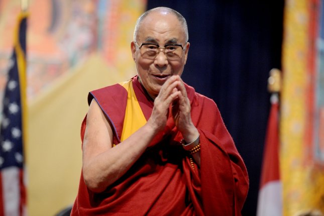 The Dalai Lama is traveling to the United States on Tuesday where he will receive prostate treatment in Minnesota's Mayo Clinic. The 80-year-old Buddhist leader frequents the Mayo Clinic, where he received an annual examination in September. File photo by Dennis Van Tine/UPI