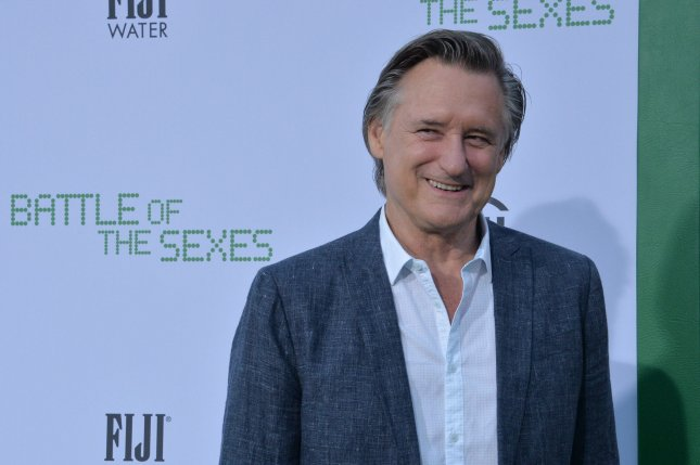 Bill Pullman attends the premiere of Battle of the Sexes at the Regency Village Theatre in the Westwood section of Los Angeles on September 16. The actor turns 64 on December 17. File Photo by Jim Ruymen/UPI