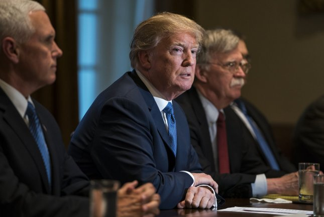 U.S. President Donald Trump will not be attending the Summit of the Americas in Peru. He will send Vice President Mike Pence in his place. Photo by Jim Lo Scalzo/UPI