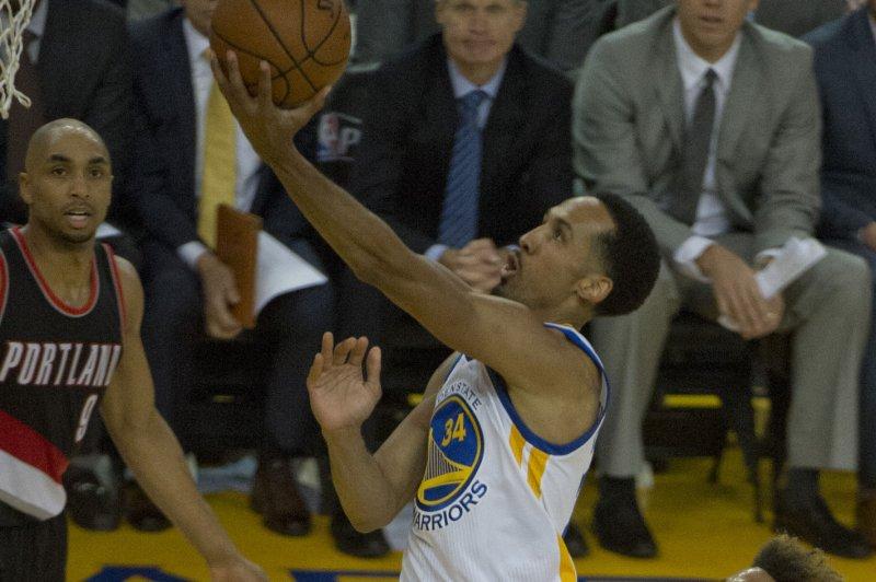Ex-Golden State Warriors guard Shaun Livingston won three championships as a member of the Warriors. File Photo by Terry Schmitt/UPI