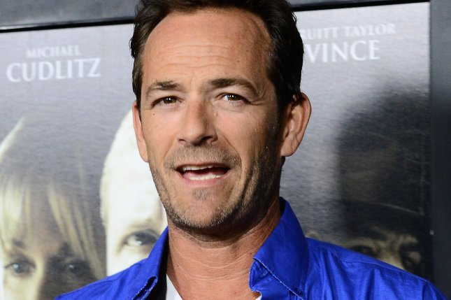 Actor Luke Perry attends the premiere of the motion picture thriller Dark Tourist at the Arclight Cinerama Dome in the Hollywood section of Los Angeles on August 14, 2013. Perry revealed in a recent interview that he isn't the least bit excited about television's upcoming '90210' tell-all. Photo by Jim Ruymen/UPI