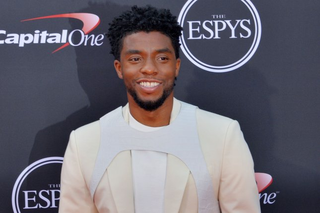 Chadwick Boseman will play a Vietnam veteran in Spike Lee's film Da 5 Bloods. File Photo by Jim Ruymen/UPI
