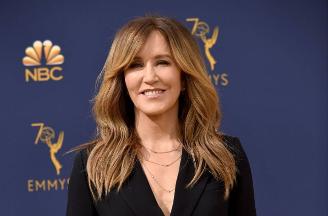 Felicity Huffman said she felt regret and shame for her involvement in a college admissions scandal. File Photo by Christine Chew/UPI