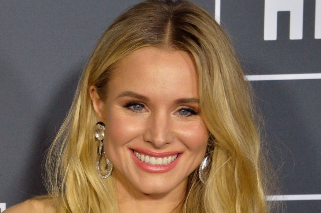 The Good Place star Kristen Bell. The comedy series will receive a Peabody Award next month. File Photo by Jim Ruymen/UPI