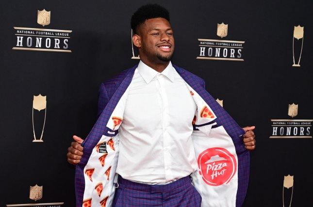 JuJu Smith-Schuster led the Pittsburgh Steelers in receptions and receiving yards in 2018, his second NFL season. File Photo by David Tulis/UPI