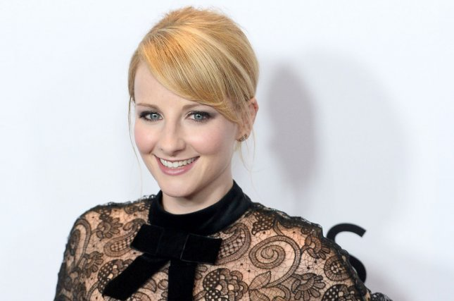 Melissa Rauch gave birth to a baby boy alone at the hospital due to the coronavirus pandemic. File Photo by Jim Ruymen/UPI