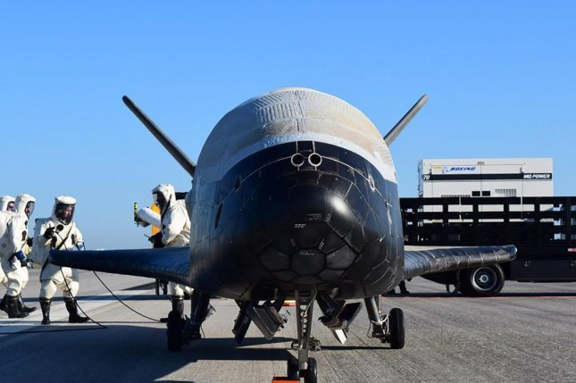 The U.S. Air Force's X-37B space plane will launch from Cape Canaveral Air Force Station, Fla., on May 16. File Photo courtesy of U.S. Air Force