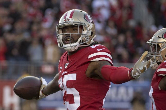 San Francisco 49ers cornerback Richard Sherman played 78 of the team's 82 defensive snaps in their loss to the Arizona Cardinals on Sunday. File Photo by Terry Schmitt/UPI