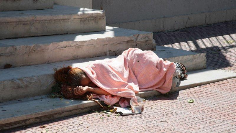 South Carolline approves plan to exile its homeless. UPI/Hugo Philpott