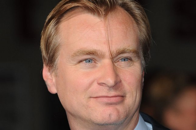 Christopher Nolan attends the European premiere of Interstellar Oct. 29, 2014. He is to be honored by the Art Directors Guild next month. UPI/Paul Treadway