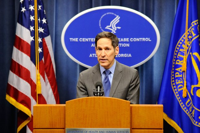 CDC Director Tom Frieden said he was 