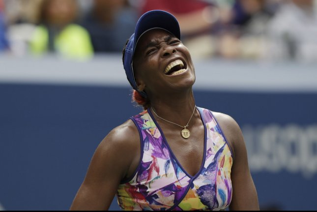 Venus Williams of the United States. Photo by John Angelillo/UPI