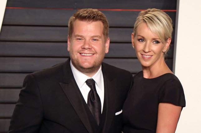 James Corden and his wife Julia Carey attend the 2016 Vanity Fair Oscar party in Beverly Hills on February 28, 2016. File Photo by David Silpa/UPI