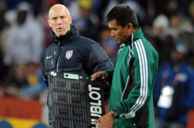 Former men's U.S. national team soccer coach Bob Bradley was fired as manager of Swansea of the English Premier League after just 11 games. File Photo by Chris Brunskill/UPI