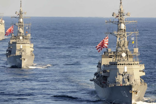 China warship sails near Japan-controlled islands