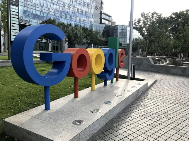 Google's parent company Alphabet was valued at $1 trillion on Thursday, becoming the fourth company to hit this high watermark. Photo by Stephen Shaver/UPI