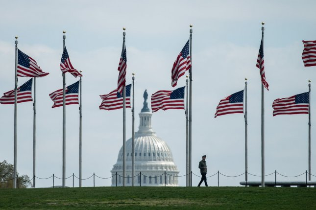 The House was scheduled to return to the Capitol on April 20. Photo by Kevin Dietsch/UPI