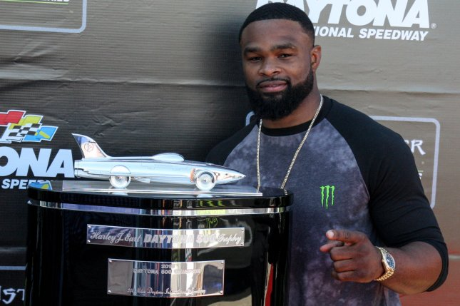 UFC star Tyron Woodley will fight Gilbert Burns Saturday in the main event of UFC Fight Night. File Photo by Mike Gentry/UPI