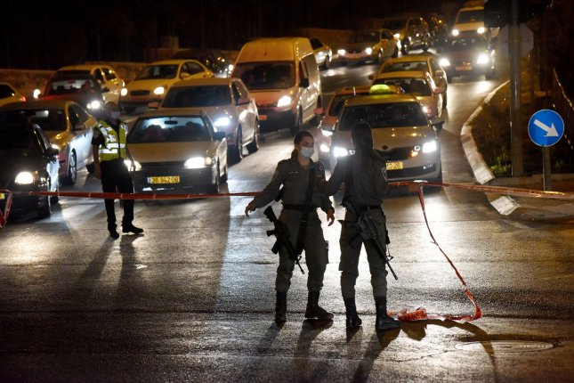 Israel placed more than 40 cities on curfew Tuesday night as the country reported 3,514 new COVID-19 cases. Photo by Debbie Hill/UPI