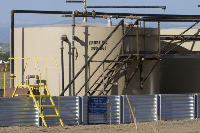 Oklahoma sees signs of general economic recovery, but the pace of growth is tied to what happens with crude oil prices, the state treasurer said. File photo by Gary C. Caskey/UPI.