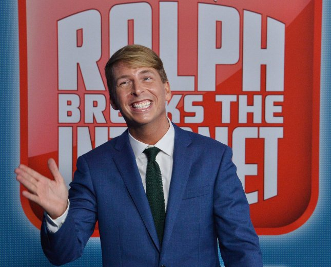 Jack McBrayer, the voice of Felix inRalph Breaks the Internet, at the film's premiere in Los Angeles on November 5. The movie is now available via DVD, Blu-ray and digital. File Photo by Jim Ruymen/UPI