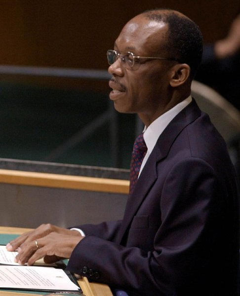 Just days after Jean-Claude Duvalier returned to Haiti, former Haitian President Jean-Bertrand Aristide (pictured) says he's ready to return to his homeland as well. ep/Ezio Petersen UPI