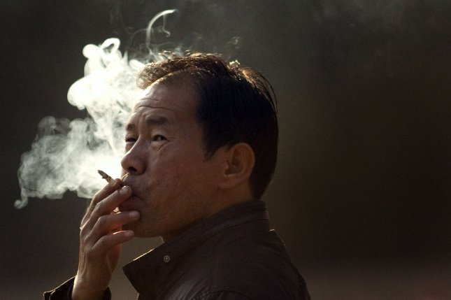Two of the four newly listed carcinogens can be found in tobacco smoke. (UPI Photo/Stephen Shaver)