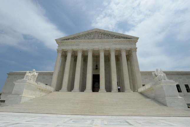 The Supreme Court dismissed a major challenge to President Donald Trump's travel ban after the initial ban expired when the new ban was put in place. File Photo by Pat Benic/UPI