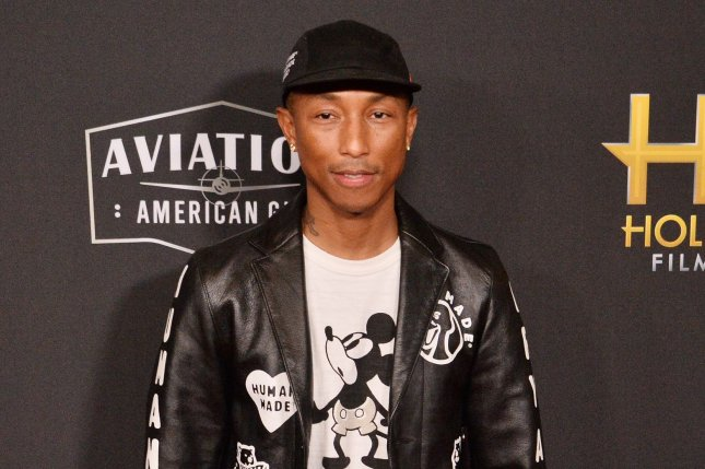 Pharrell Williams is working to make Juneteenth a national paid holiday. File Photo by Jim Ruymen/UPI