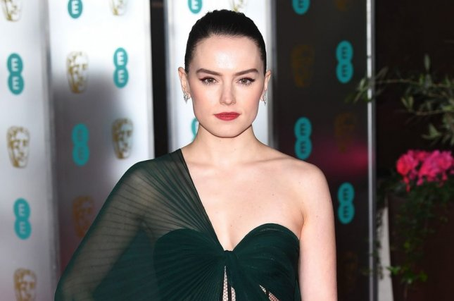 Daisy Ridley is set to star in WWII drama Women in the Castle along with Kristin Scott Thomas and Nina Hoss File Photo by Rune Hellestad/UPI