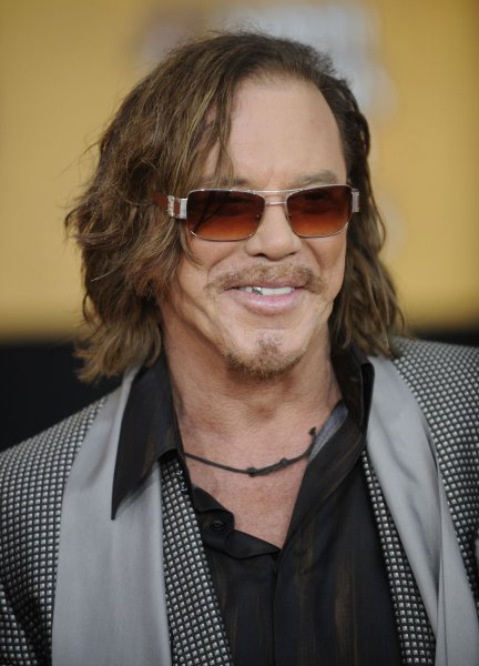 Mickey Rourke attends the Screen Actors Guild Awards held in Los Angeles on January 25, 2009. (UPI Photo/ Phil McCarten)
