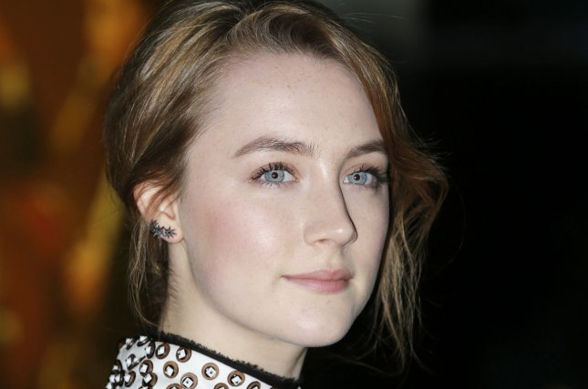 Saoirse Ronan arrives at the premiere of 'The Grand Budapest Hotel' at Alice Tully Hall in New York City on February 26, 2014. UPI/John Angelillo