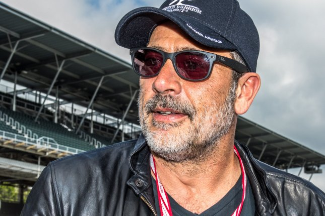 Jeffrey Dean Morgan says fans have been very vocal about their feelings regarding his character Negan on The Walking Dead. File Photo by Edwin Locke/UPI